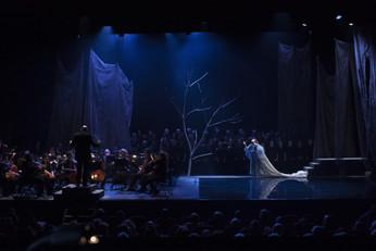 """Décor créé à l'atelier de l'espace : """"Orphée et Eurydice"""", de Gluck"""