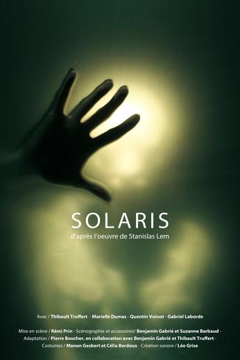 """Créé à l'atelier de l'espace : """"SOLARIS"""" d'après le roman de Stanislas Lem"""