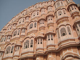 Hawa Mahal palace in Jaipur India.JPG