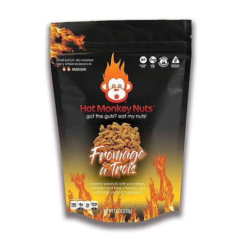 Hot Monkey Nuts  FROMAGE A TROIS