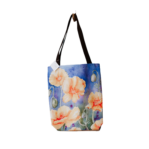 Painted Shoulder Tote