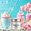 Thumbnail: Unicorn Dreams Whipped Bath Soap & Shave Cream Bella & Bear
