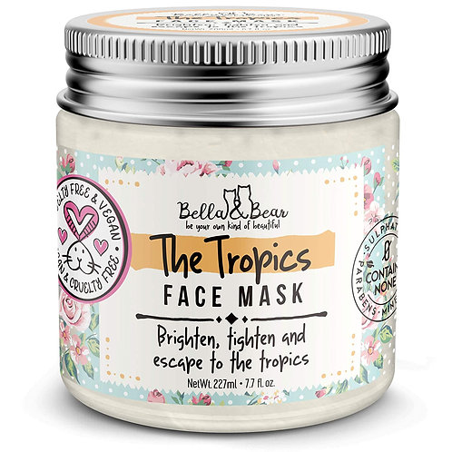 The Tropics Facial Mask Bella and Bear