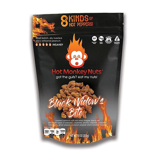 Hot Monkey Nuts BLACK WIDOW'S BITE