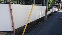 塀 塗り替え