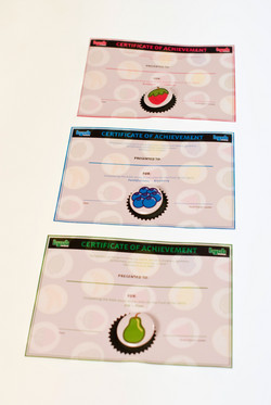 BYOB Certificates with buttons