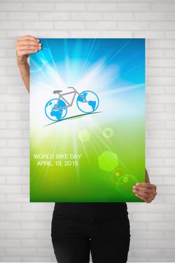 World Bike Day Poster