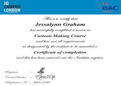 Cartoon Drawing Certification