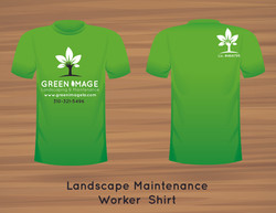 Landscape Maintenance Worker T-Shirt