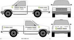 Landscape Maintenance Worker Truck