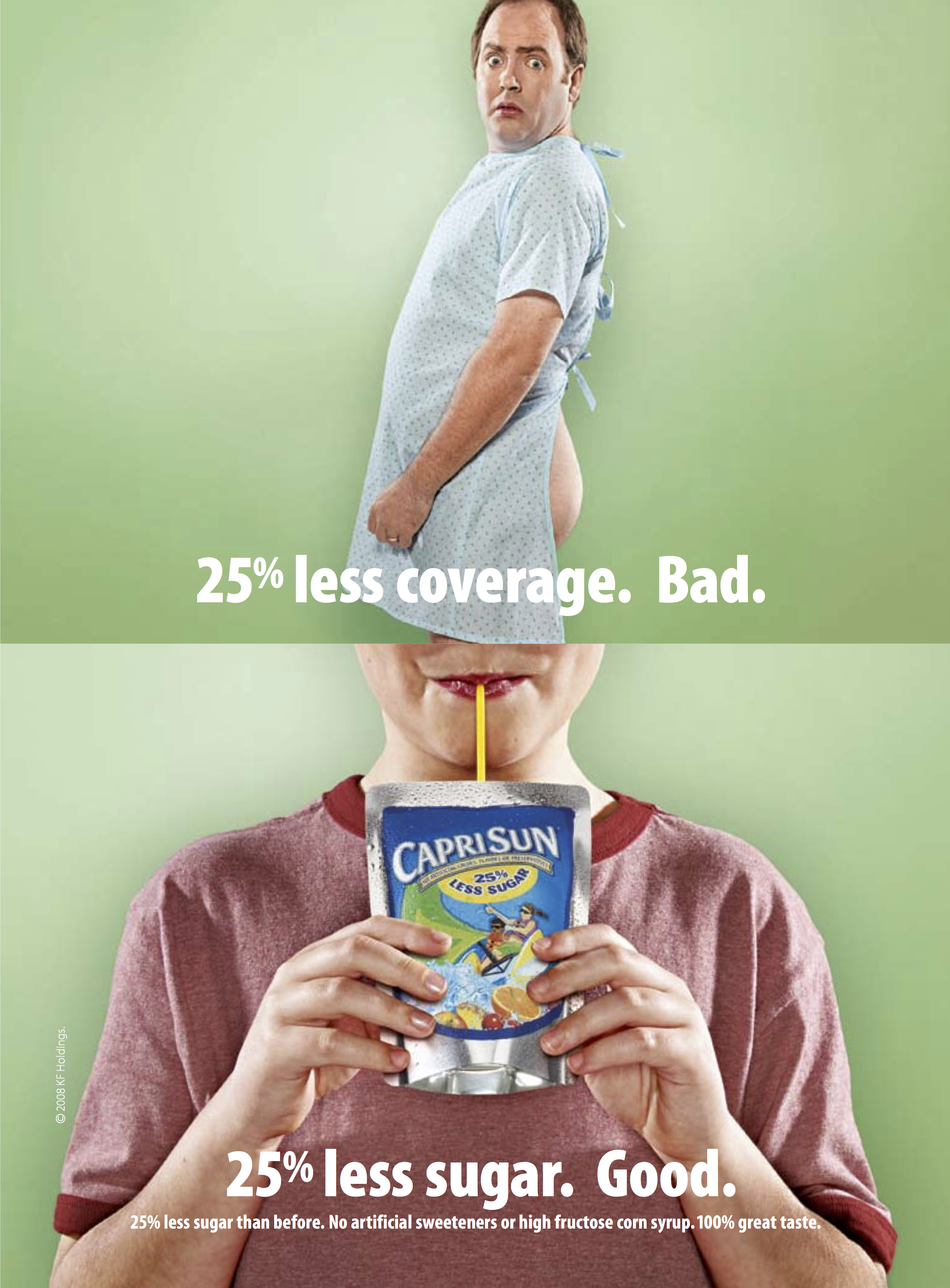 Product Magazine Ad for Capri Sun