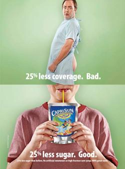 Product Magazine Ad for Capri Sun