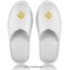 Frottierslipper mit Logo online kaufen und bestellen. Von 10 bis 10.000 Paar direkt vom Großhandel.