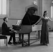 Alexandra Baer, (Soprano)    Geoffrey Tanti, (Piano)