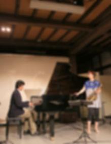 下田まりこ,mariko shimoda,jazz,sax,hibari,ヒバリ,ジャズ,富や蔵