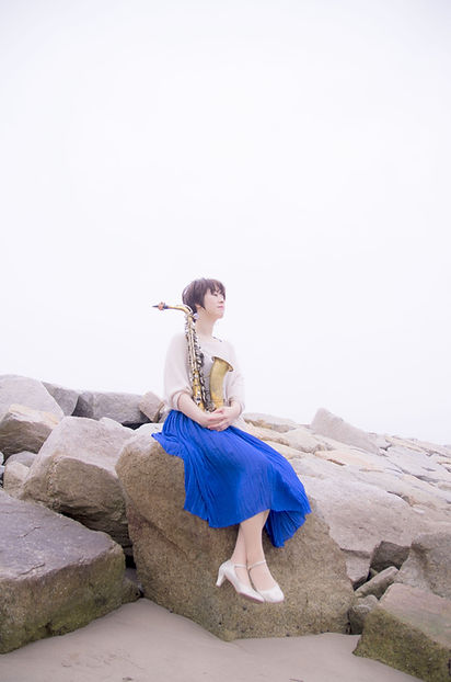 sax,jazz,下田まりこ,mariko shimoda