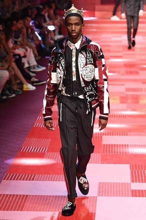 Christian (King) Combs for Dolce & Gabbana