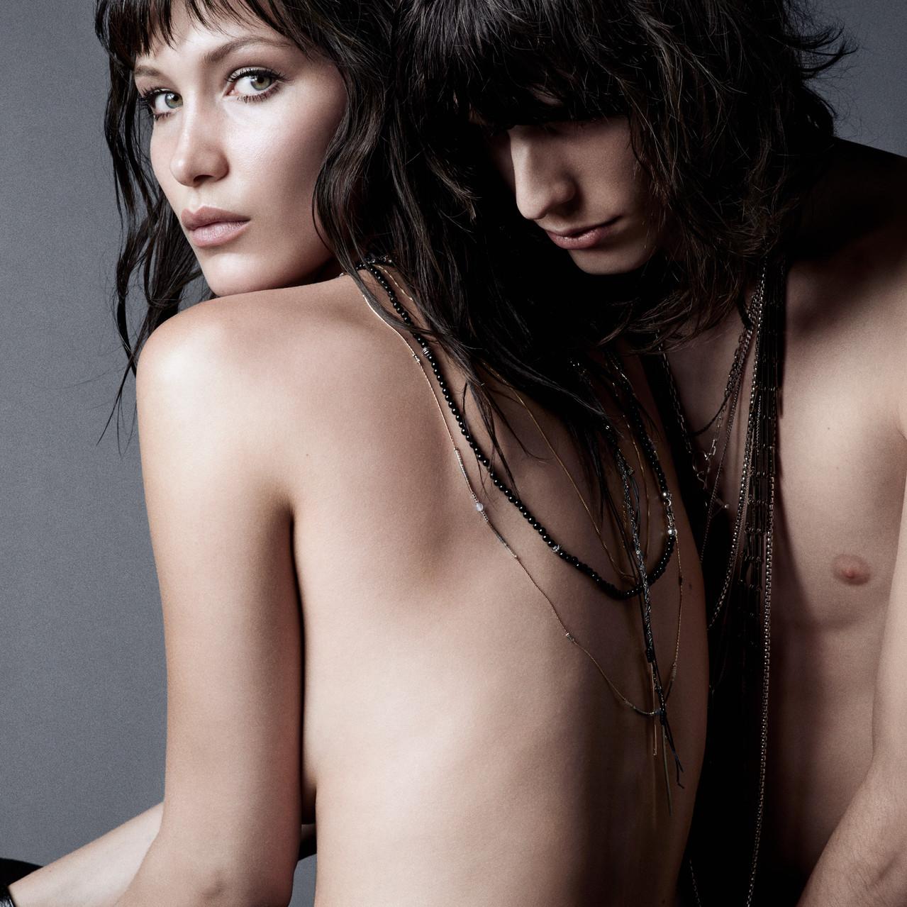 Modelled by Bella Hadid and Justin Gossman