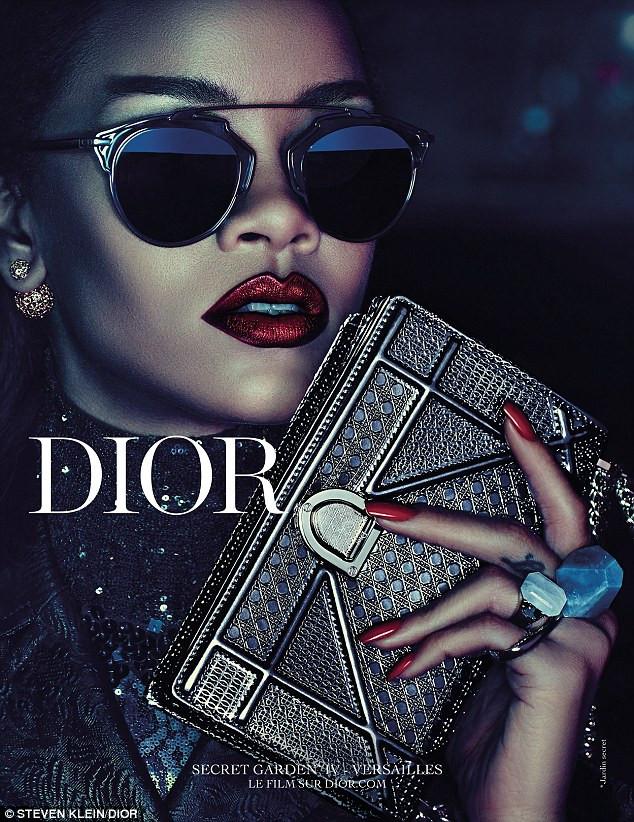 Rihanna for Dior's Secret Garden 4 Campaign