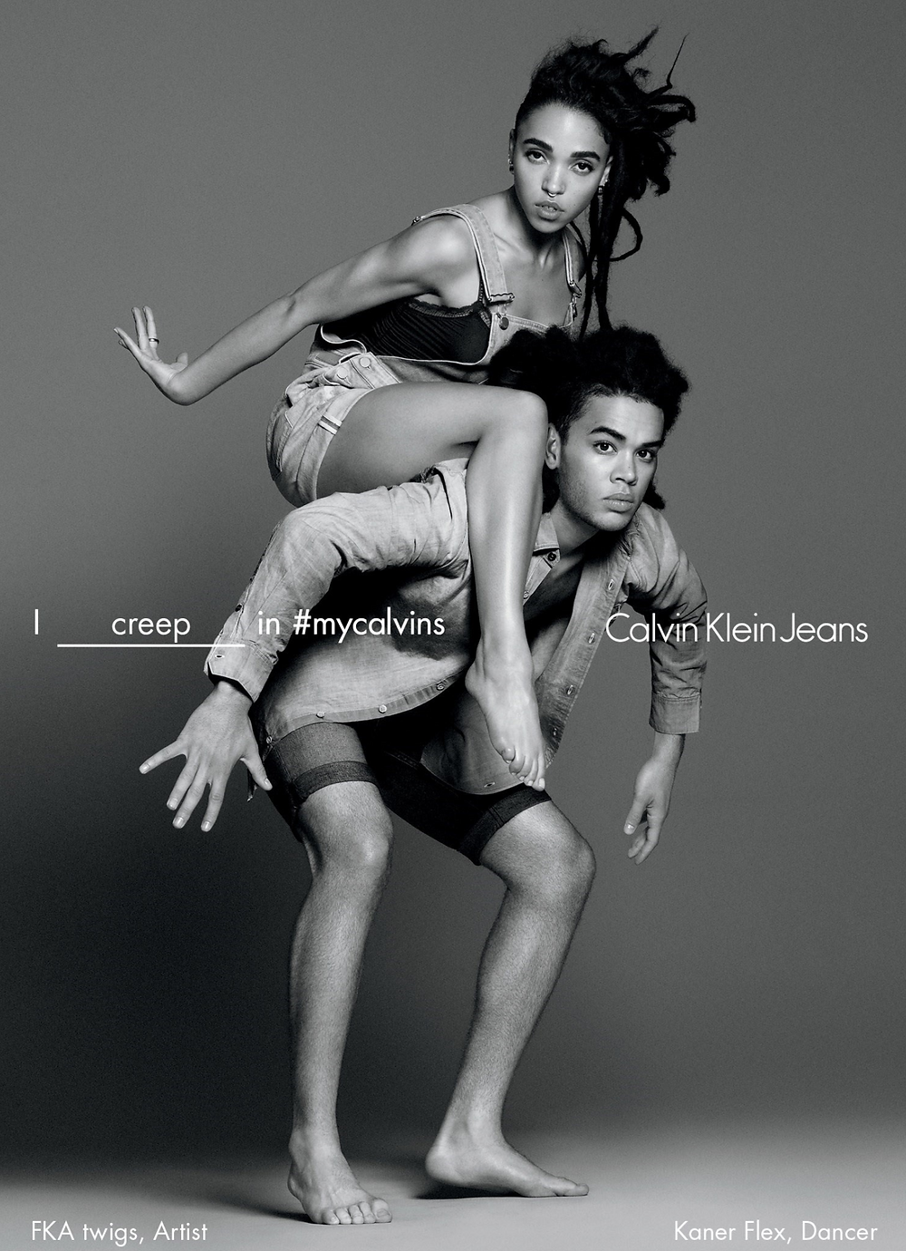 FKA Twigs for Calvin Klein Jeans S/S '16