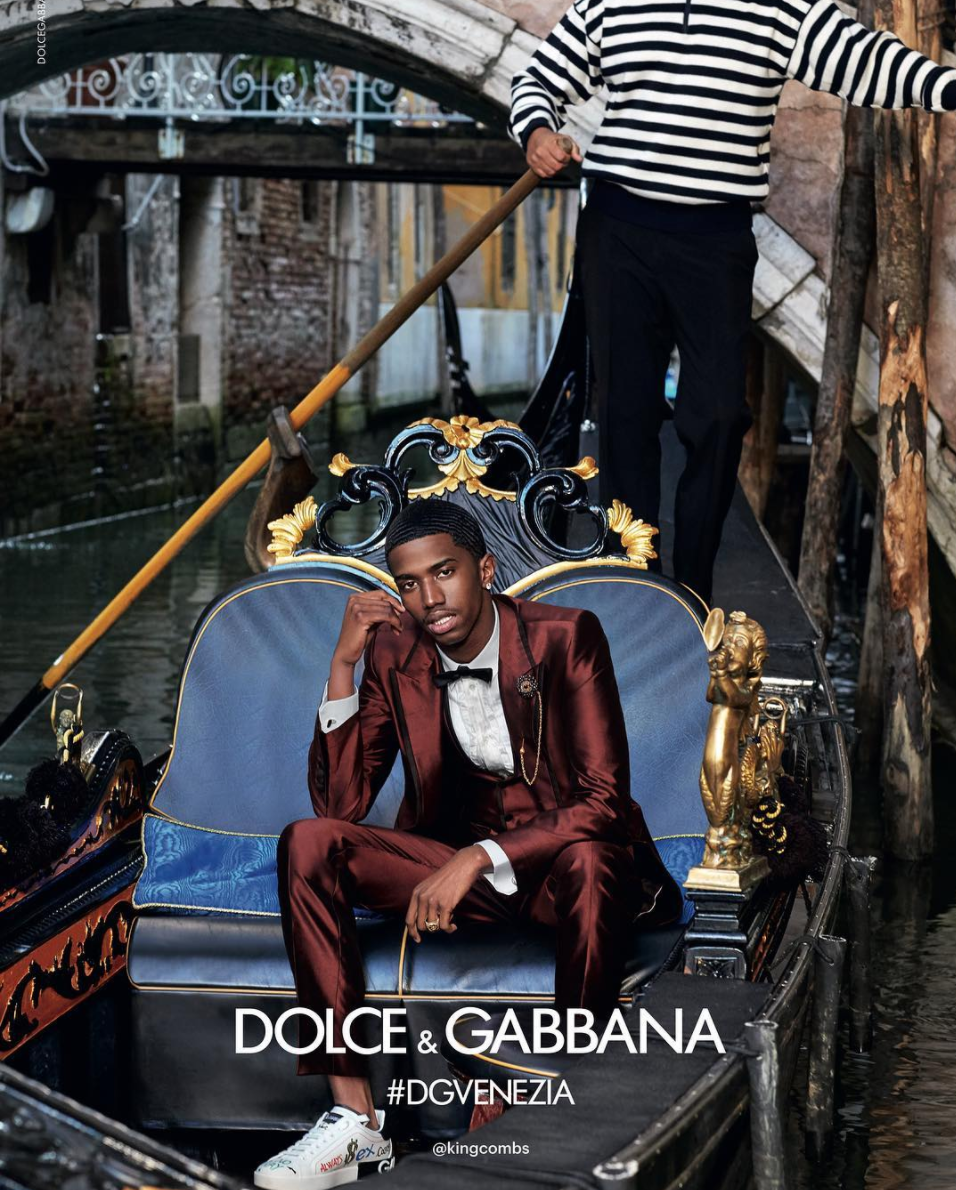 Christian Combes for Dolce & Gabbana