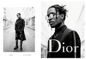 A$AP Rocky for Dior S/S '17