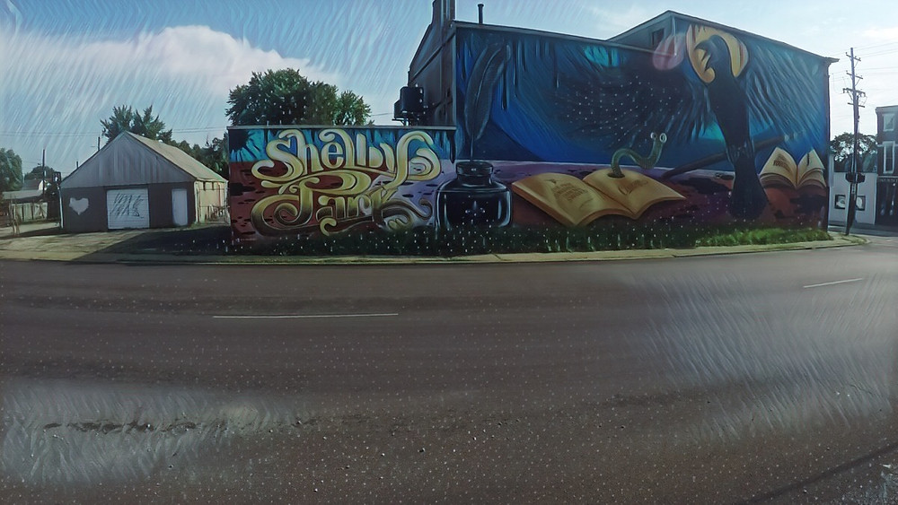 Mural ART located in Shelby Park: Louisville KY