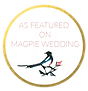 As featured on Magpie Wedding, Wedding Blog, Magpie Wedding