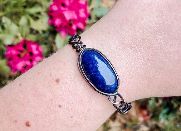 Lapis Lazuli Braided Bracelet