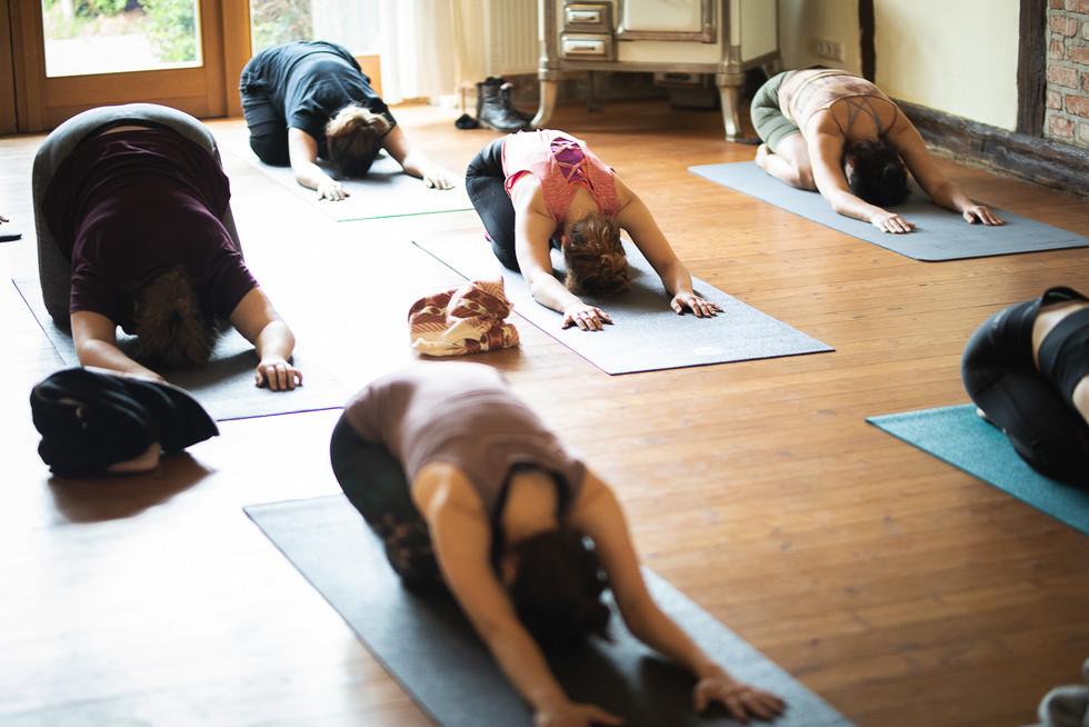 Yoga im Gästehaus