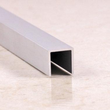 Профиль из алюминия П 8х8 2,7м