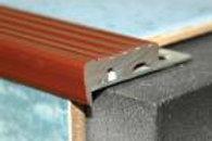 Алюминиевый профиль с резиновой вставкой ПУ-10(35х10)