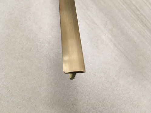 Порог из латуни 10мм (т-образный, 2,7м)