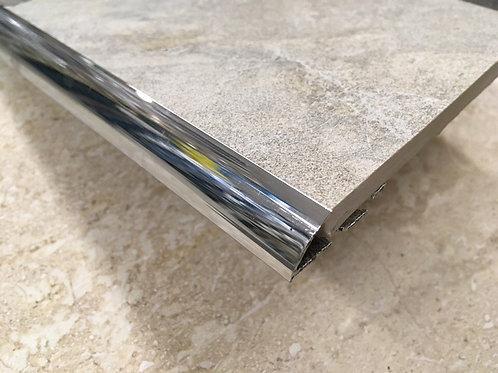 Гнущийся закругленный внешний угол из латуни DRG 125