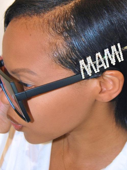 MAMI Hair Pin- Silver