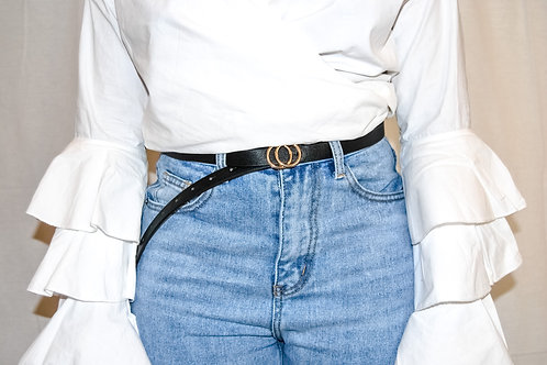 The Essentials Belt- Black