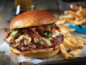 Better than a Big Mac, The Clipper Tavern's Famous Big Belle Burger