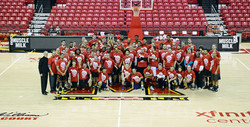 special olympics group photo