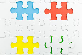 jigsaw puzzle use for business backgroun