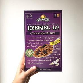 Ezekiel 4:9 Cinnamon Raisin Cereal