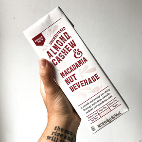 Almond, Cashew, & Macademia Nut Beverage