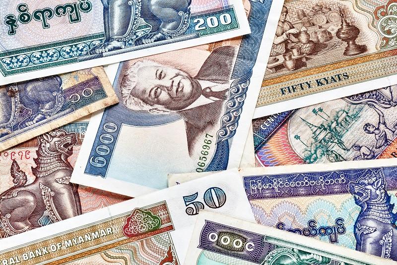 М'янмський к'ят (англ. Kyat, фр. Kyat) — національна валюта М'янми (до 1989 року — Бірми).  Місцеві назви: ча, джа. Один к'ят дорівнює 100 п'я. З 1952 року по 1989 рік носив назву Бірманський к'ят, з 1989 року — М'янмський к'ят.