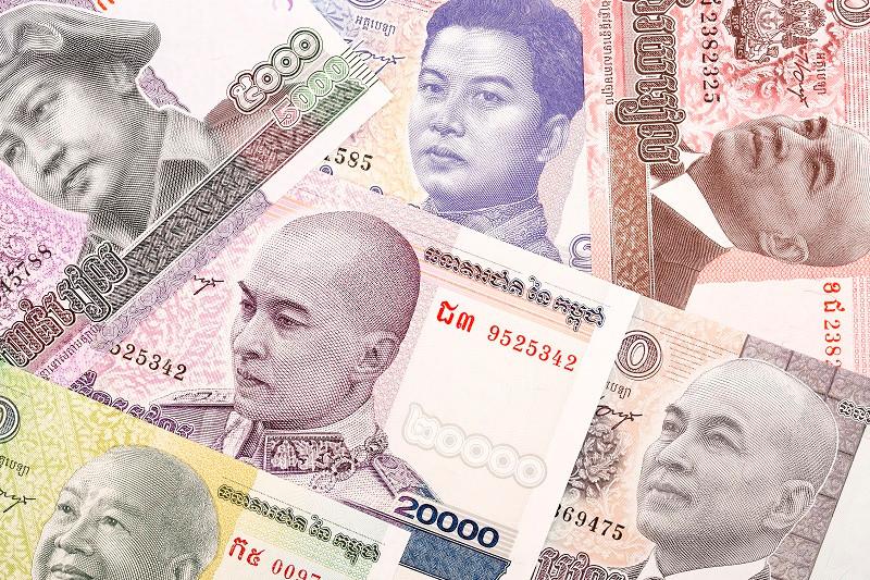 Камбоджійський рієль (фр. Riel) — національна валюта Камбоджі.  1 камбоджійський рієль = 10 кекам або 100 су.  Умовне позначення валюти — KHR. На території країни також можна розплачуватися доларами США і таїландськими батами.