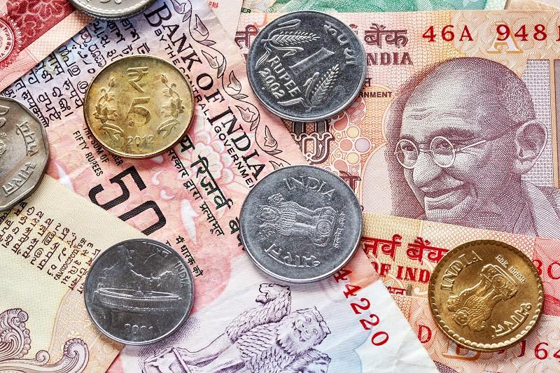 Індійська рупія (англ. Indian rupee, гінді रुपया, код INR) — офіційна валюта Індії. Емітентом валюти виступає Резервний банк Індії. Найпоширеніші позначення: Rs, ₨ і रू. Код ISO 4217 — INR.