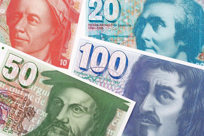 Швейца́рський франк (код валюти згідно з ISO 4217: CHF, символ: ₣ або Fr.) — офіційна валюта Швейцарії та Ліхтенштейну. Емісійний інститут — Національний банк Швейцарії.