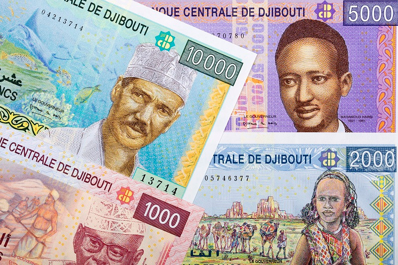 Франк Джибуті (араб. فرنك جيبوتي, фр. Franc de Djibouti) — національна валюта Джибуті; 1 франк = 100 сантимів.