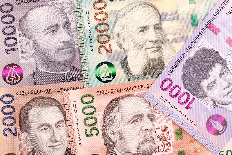 Драм (вірм. Դրամ; символ: ֏; літерний код: AMD) — офіційна валюта Вірменії. Поділяється на 100 лум (вірм. Լումա), однак монети останніх вийшли з обігу. Слово «драм» перекладається як «гроші» та походить від грецького «драхма» (грец. δραχμή).