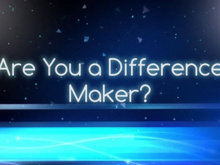 Are You a Difference Maker?