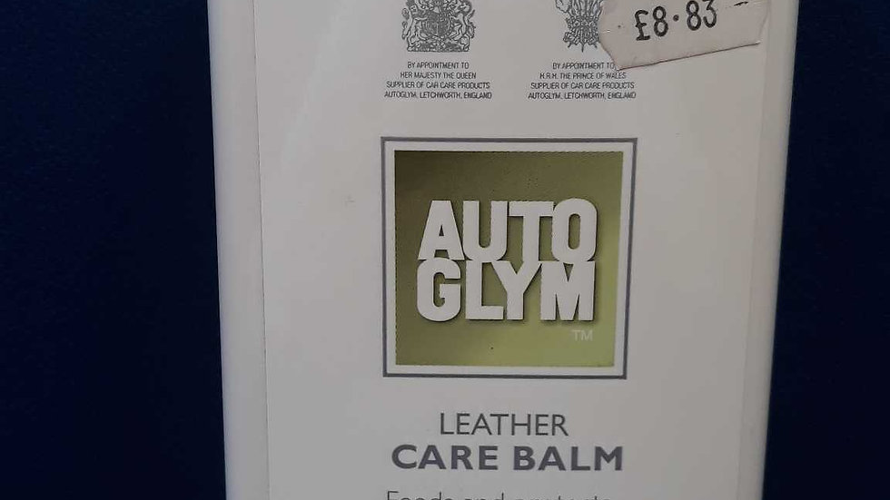 Auto Glum Leather Care Balm 500ml