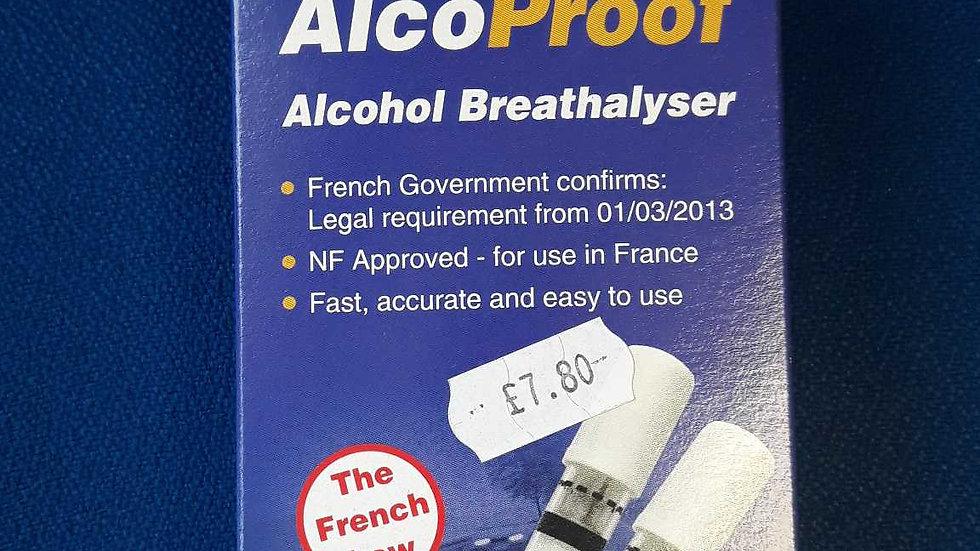 Alcoproof Breathalyser